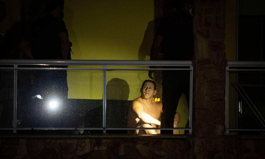 """Ao ser preso, Mad foi logo se justificando, sem que fosse perguntado: """"Não tenho nada com a morte da Marielle"""", respondeu aos policiais Foto: Hermes de Paula / Agência O Globo"""