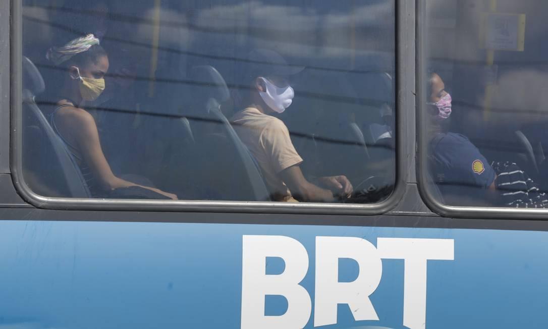 BRT anuncia linhas novas e alterações a partir de 1º de julho Foto: Márcia Foletto/10-5-2020 / Agência O Globo
