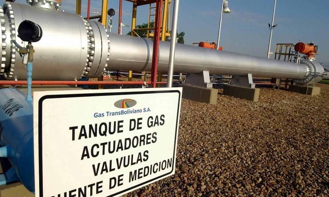 Trecho do gasoduto Brasil-Bolívia: negociações emperradas. Foto: Diego Giudice / Bloomberg