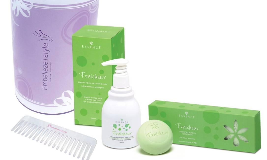 Produtos da Embelleze: empresa tem cosméticos voltados para a população negra. Foto: Divulgação