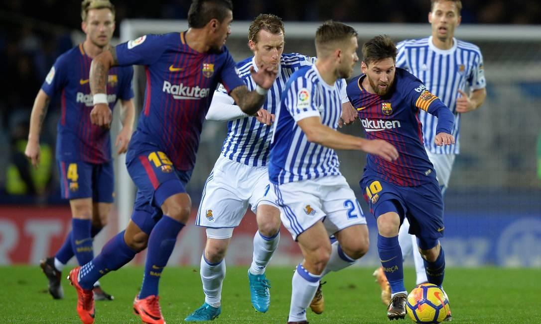 Argentino é o maior artilheiro da história do Barcelona, da Argentina, do Campeonato Espanhol e do 'El Clásico' Foto: VINCENT WEST / Reuters