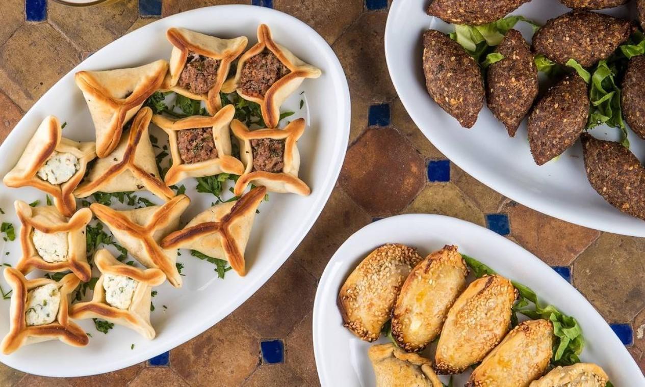 Amir. Amir. A tradição da gastronomia árabe em miniporções para aproveitar em casa Foto: Tomás Rangel / Divulgação