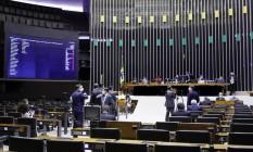 Plenário da Câmara dos Deputados delibera sobre adiamento das eleições Foto: Maryanna Oliveira / Câmara dos Deputados