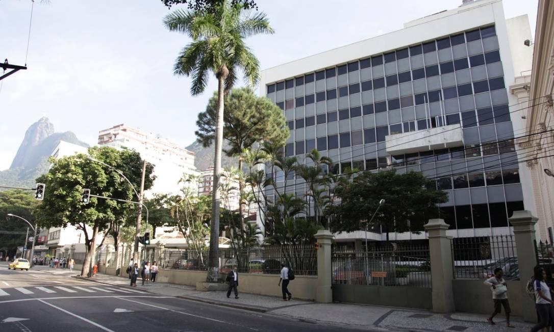 O colégio Santo Inácio, em Botafogo, planeja reduzir cadeiras nas salas para evitar aglomeraçao de alunos Foto: Divulgação