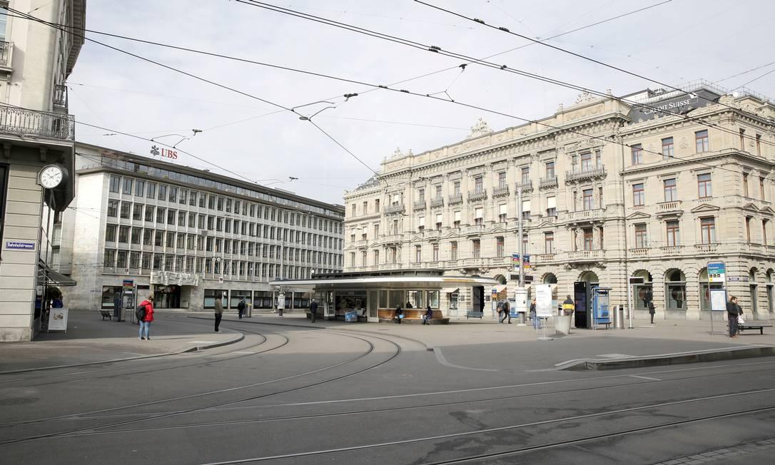Centro de Zurique Foto: Arnd Wiegmann / REUTERS