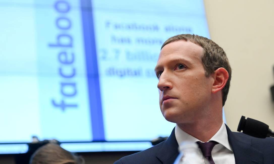O cofundador e diretor executivo do Facebook, Mark Zuckerberg 23-10-2019 Foto: Erin Scott / Reuters