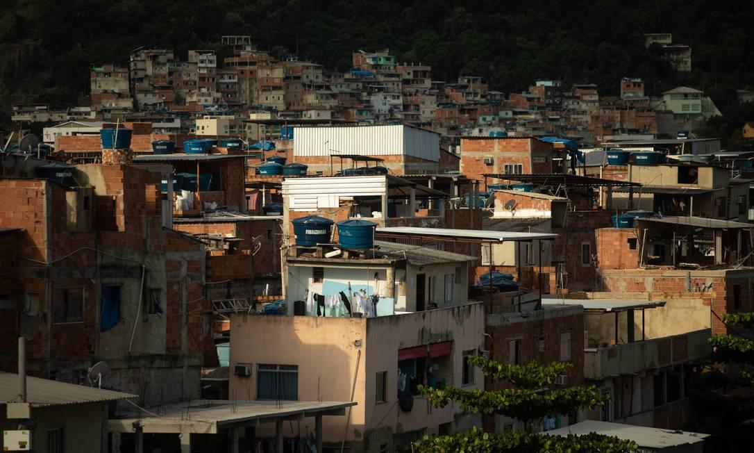 A favela de Rio das Pedras tem 140 mil moradores Foto: Brenno Carvalho / Agência O Globo