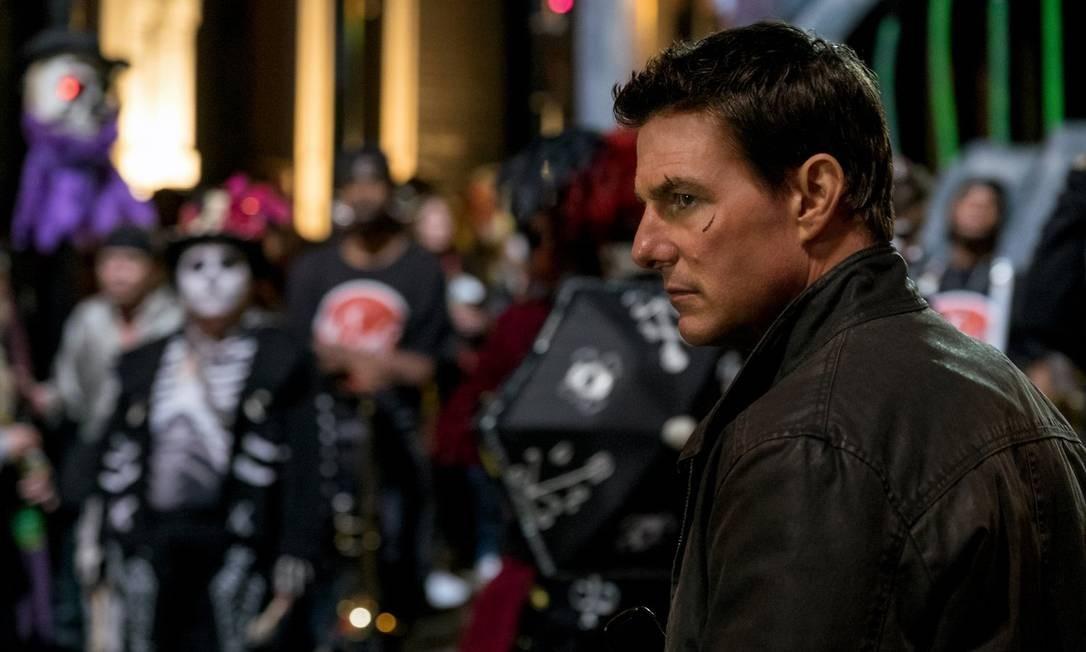 Tom Cruise no filme 'Jack Reacher: sem retorno' Foto: Divulgação