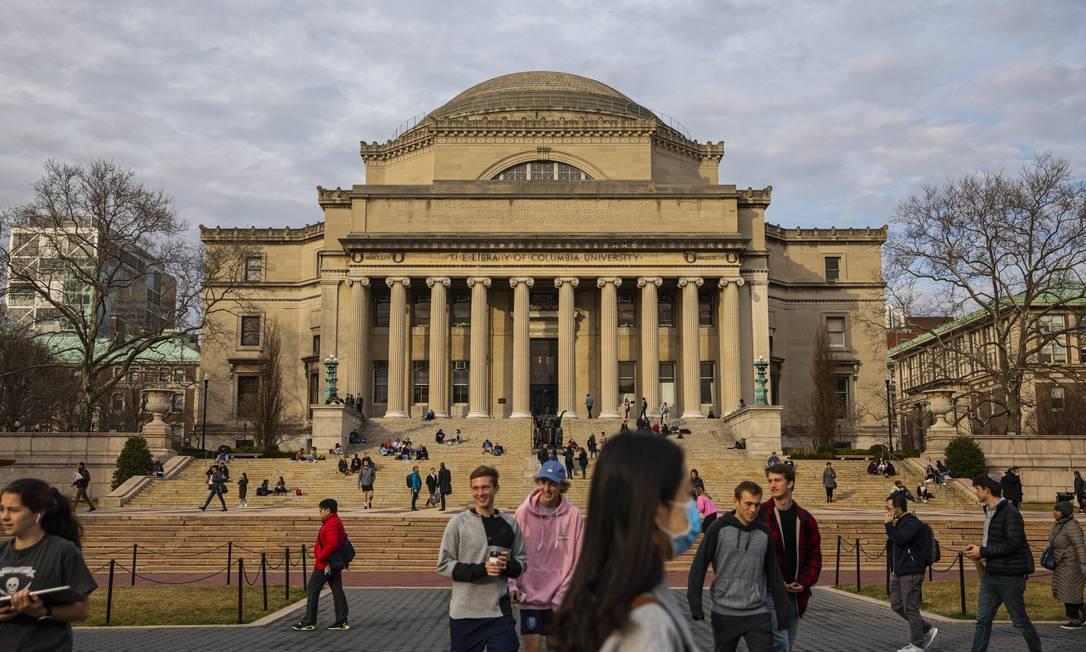 Universidade de Columbia Foto: Hiroko Masuike / NYT
