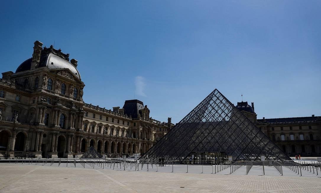 Museu do Louvre, em Paris Foto: THOMAS SAMSON / AFP