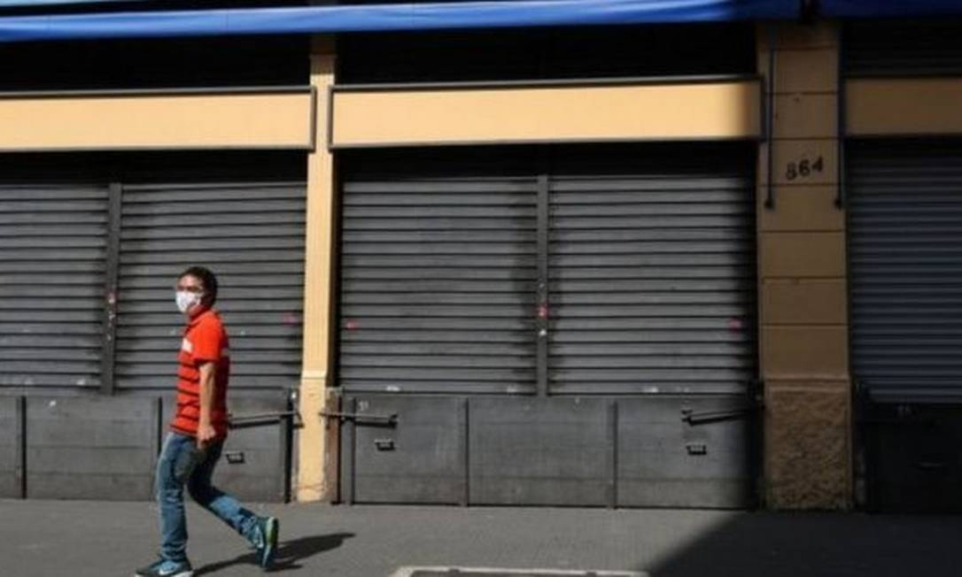 Governo de São Paulo decidiu flexibilizar a abertura da economia depois de quase quatro meses de quarentena Foto: Reuters