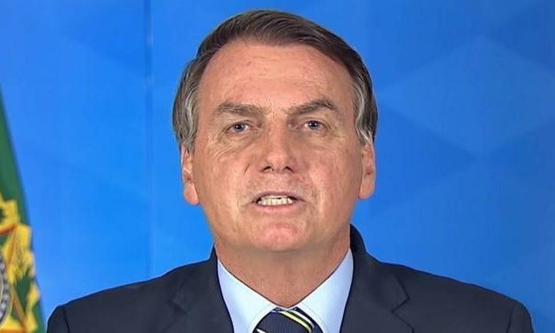O presidente da República, Jair Bolsonaro, testou positivo para coronavírus Foto: REPRODUÇÃO/PALÁCIO DO PLANATO