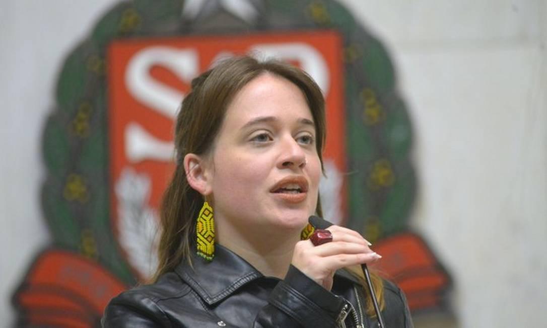Deputada estadual Isa Penna (PSOL-SP) Foto: José Antonio Teixeira/Alesp