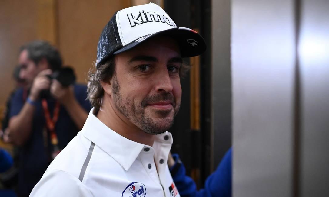 Fernando Alonso voltará a correr na Fórmula 1 em 2021, pela Renault Foto: FRANCK FIFE / AFP/03.01.2020