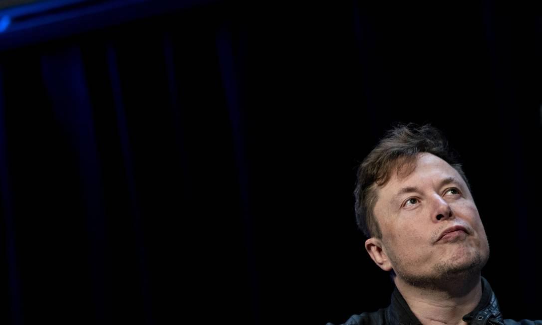 Elon Musk está próximo de receber bônus bilionário por valorização da Tesla Foto: Andrew Harrer / Bloomberg