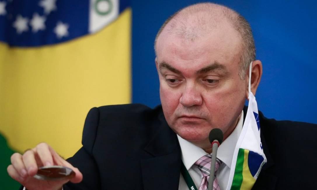 O secretário de Vigilância em Saúde, Arnaldo Correia de Medeiros. Foto: Pablo Jacob / Agência O Globo