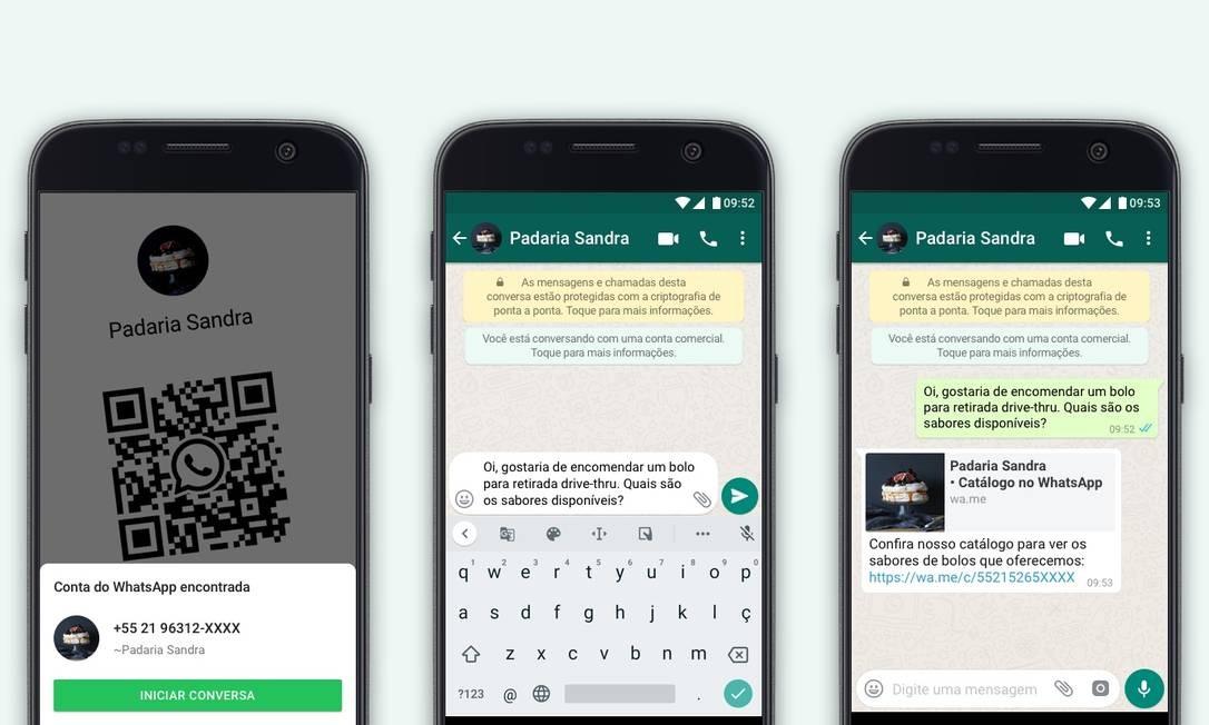 Mudanças nos recursos do WhatsApp pra negócios Foto: Divulgação