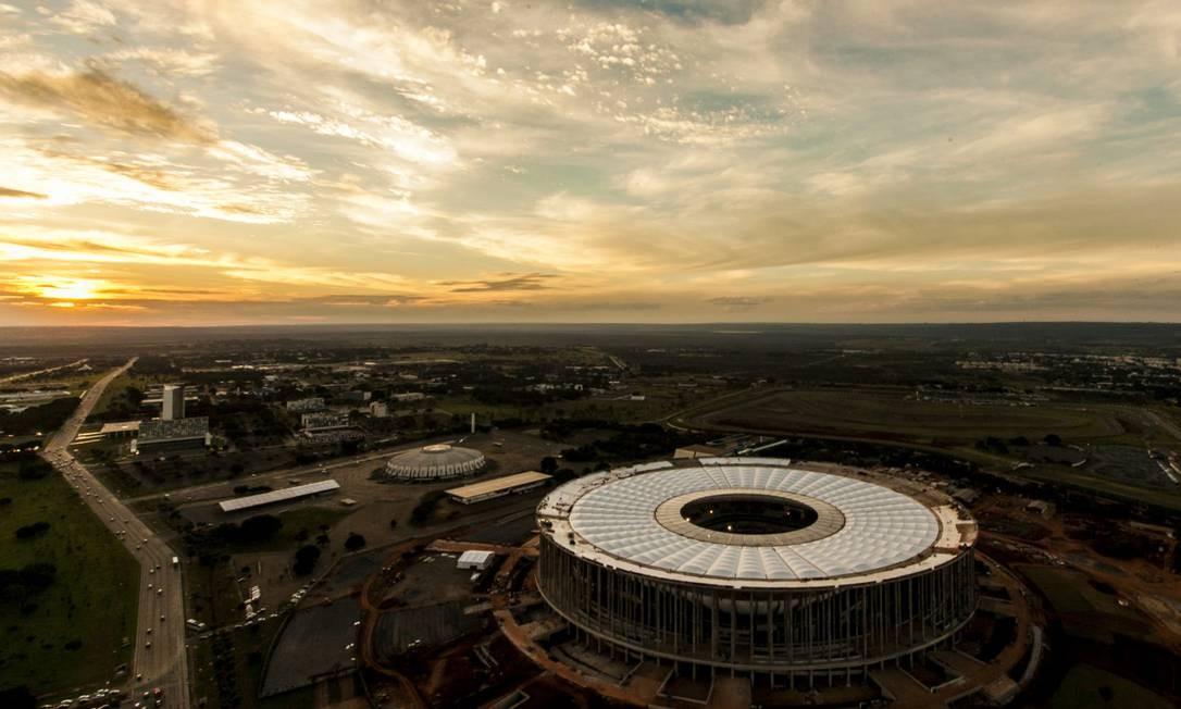 Estádio Mané Garrincha Foto: Bruno Pinheiro / Secretaria de Turismo/GDF