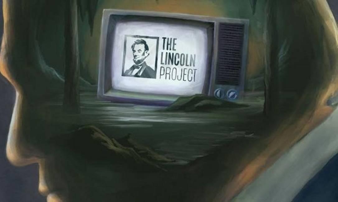 O 'Lincoln Project' é formado por republicanos insatisfeitos com o rumo que o partido tomou sob o comando de Trump Foto: Reprodução