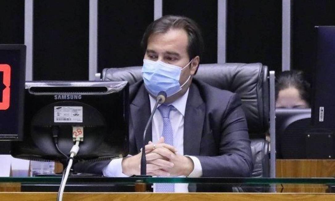 O presidente da Câmara dos Deputados, Rodrigo Maia (DEM-RJ) Foto: Agência Câmara