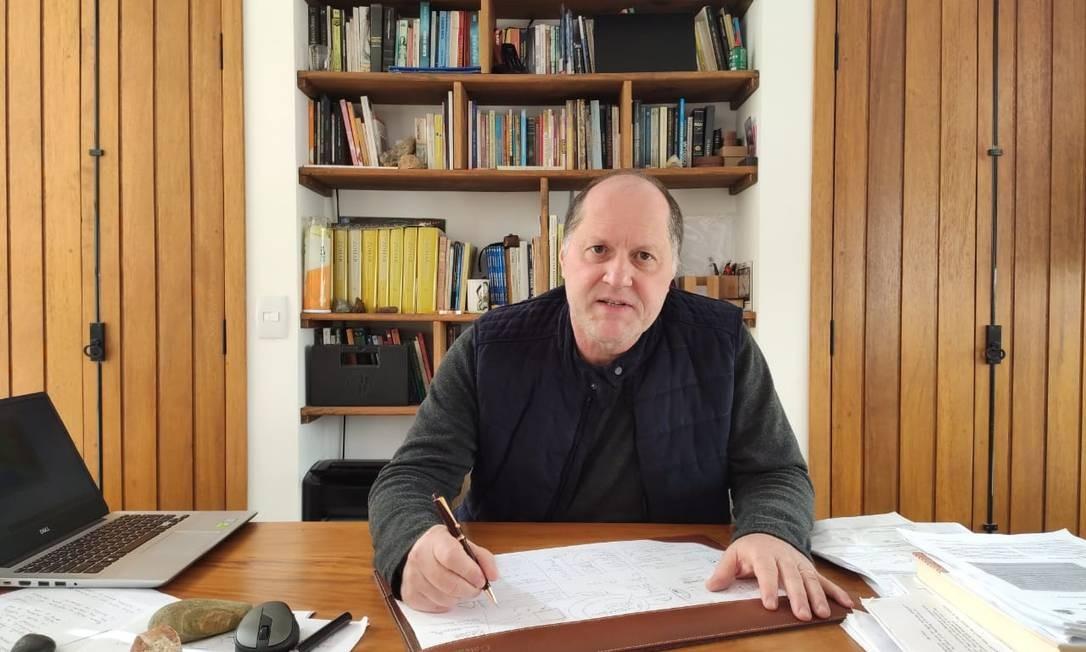 O professor Roberto Raittz, da Universidade Federal do Paraná (UFPR), coordenador do projeto Foto: Arquivo pessoal