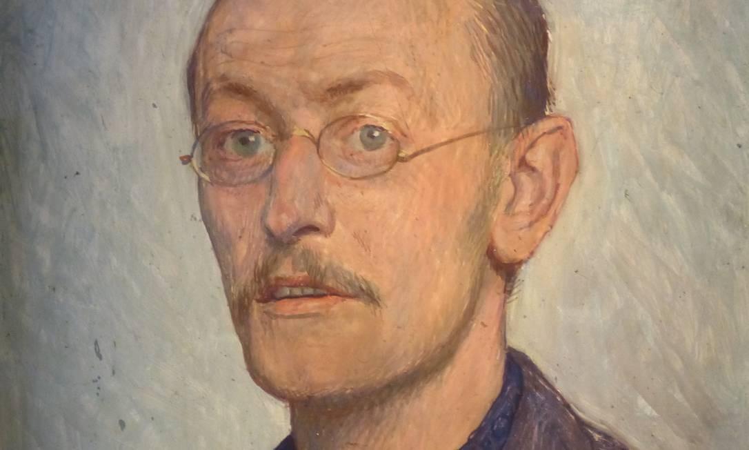 Retrato de Herman Hesse feito em 1905 por Ernst Würtenberger Foto: Reprodução