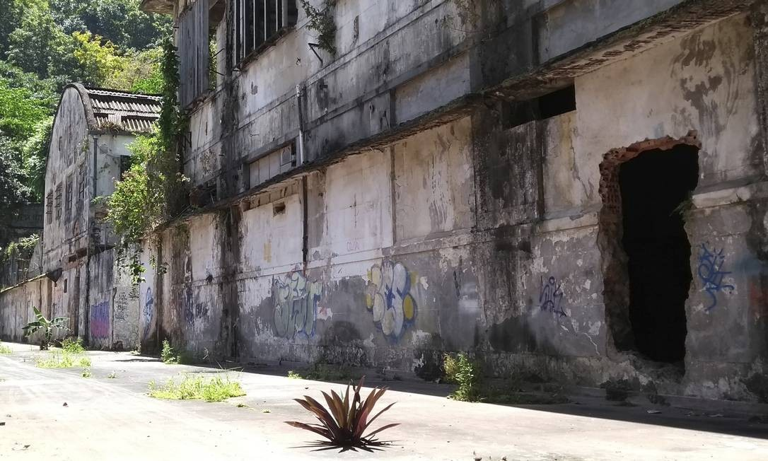 Sem utilidade. O terreno abandonado fica na Rua Marquês de São Vicente Foto: Divulgação