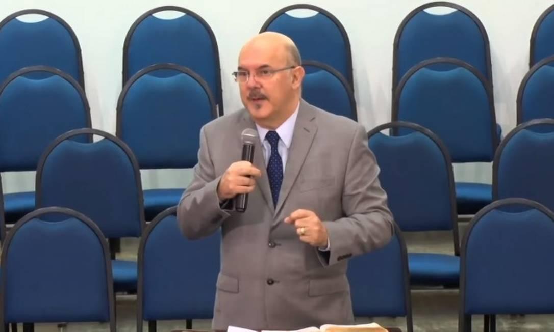 Milton Ribeiro, ministro da Educação Foto: Reprodução/Youtube