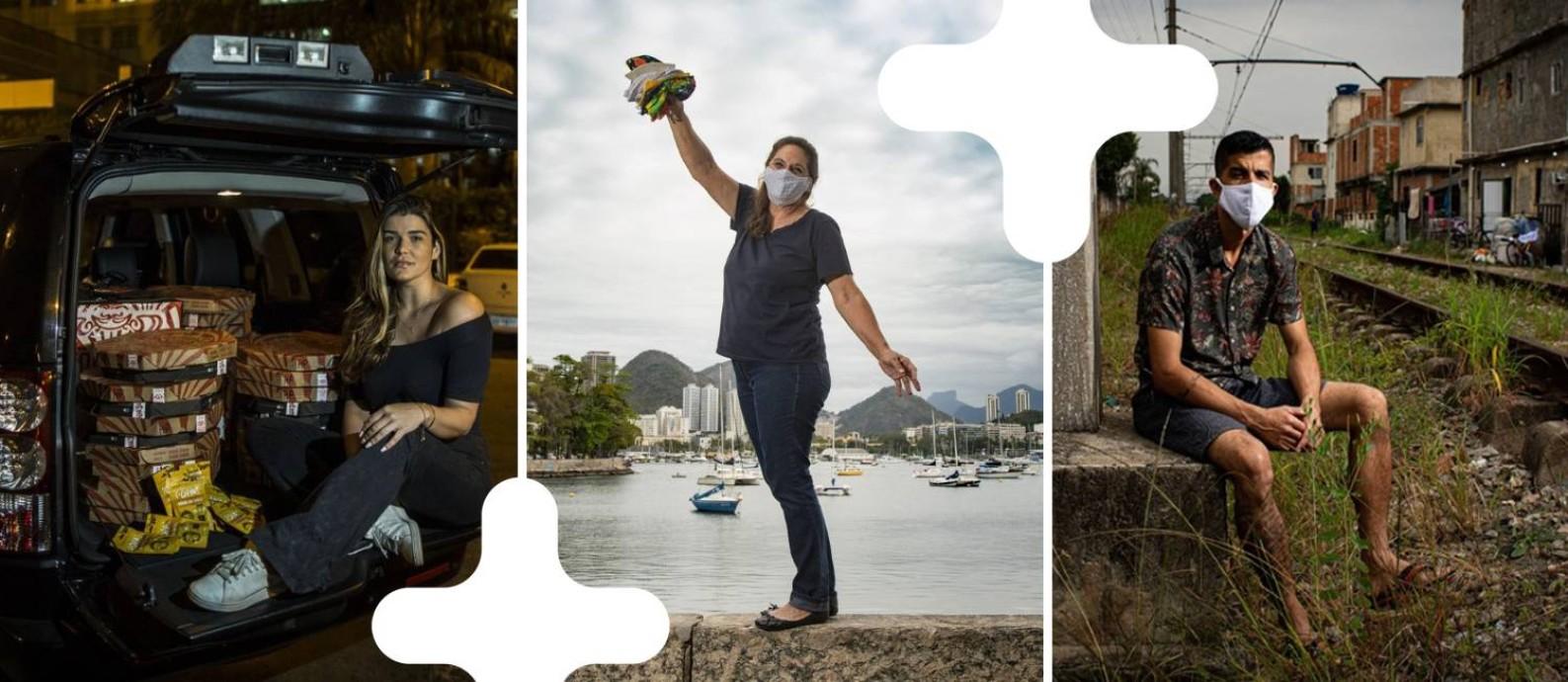 Brasileiros de diversas origens exercem sua cidadania e são exemplos de solidariedade Foto: -
