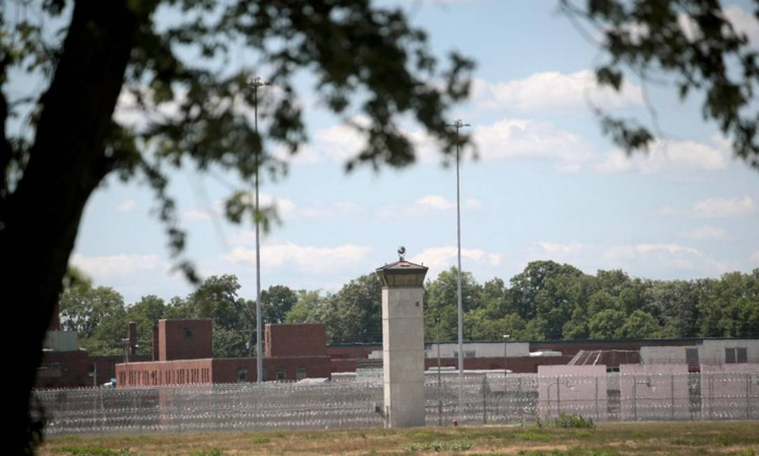 Presídio em Terre Haute, Indiana, onde execução aconteceu Foto: SCOTT OLSON / AFP / 13-7-2020