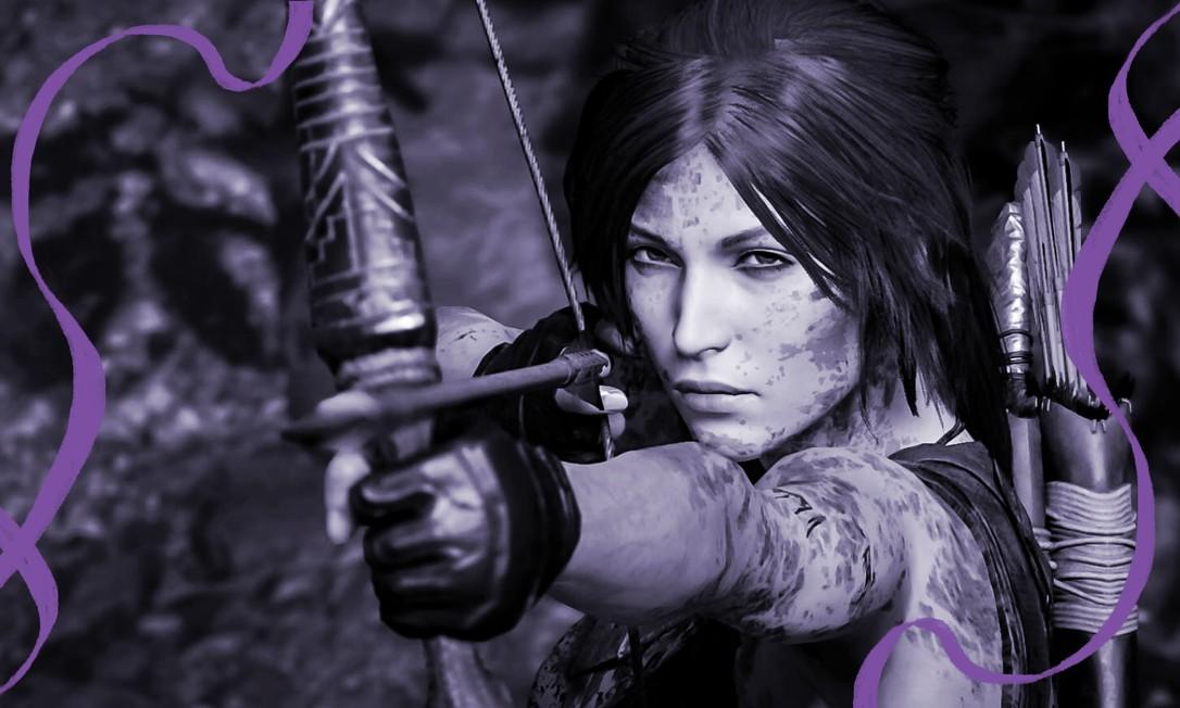Lara Croft, personagem de 'Tomb Raider': imagem hipersexualizada tem mudado nos últimos anos Foto: Reproduçao