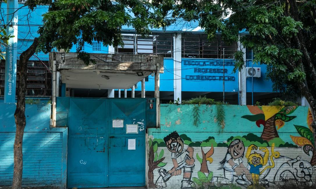 Escolas estão fechadas por conta do coronavírus Foto: BRENNO CARVALHO / Agência O Globo