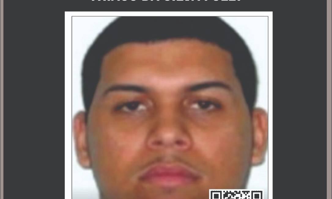 Um dos indiciados pela morte de Kauã, TH da Maré, chefe do tráfico, segue foragido Foto: Divulgação
