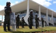 Polícia do Exército reforça segurança do Palácio do Planalto. 24/05/2017 Foto: Givaldo Barbosa / Agência O Globo