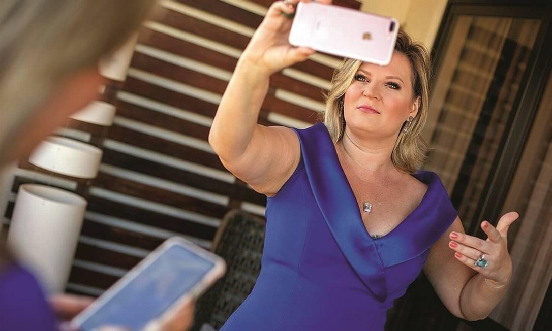 Joice Hasselmann (PSL-SP), ex-líder do governo Bolsonaro no Congresso Foto: Daniel Marenco/Agência O Globo