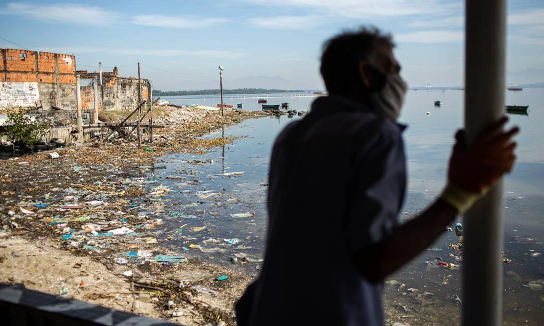 Praia de Tubiacanga, Ilha do Governador. Proposta foi aprovada pelo Senado no mês passado Foto: Hermes de Paula / Agência O Globo