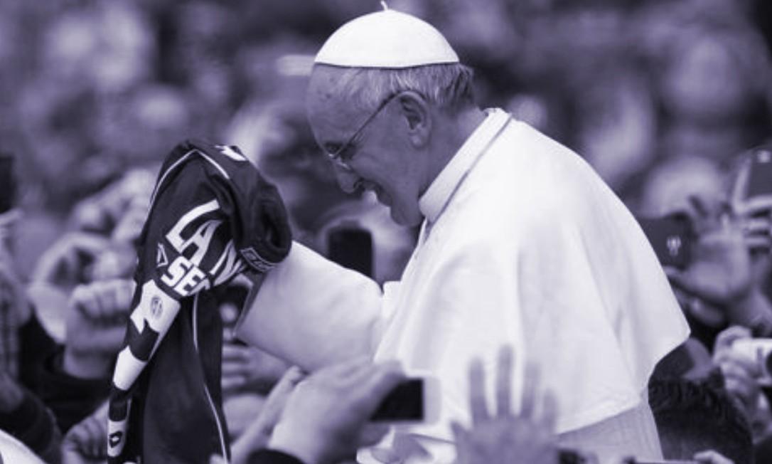 O papa Francisco é torcedor do time argentino San Lorenzo de Almagro Foto: Getty Images