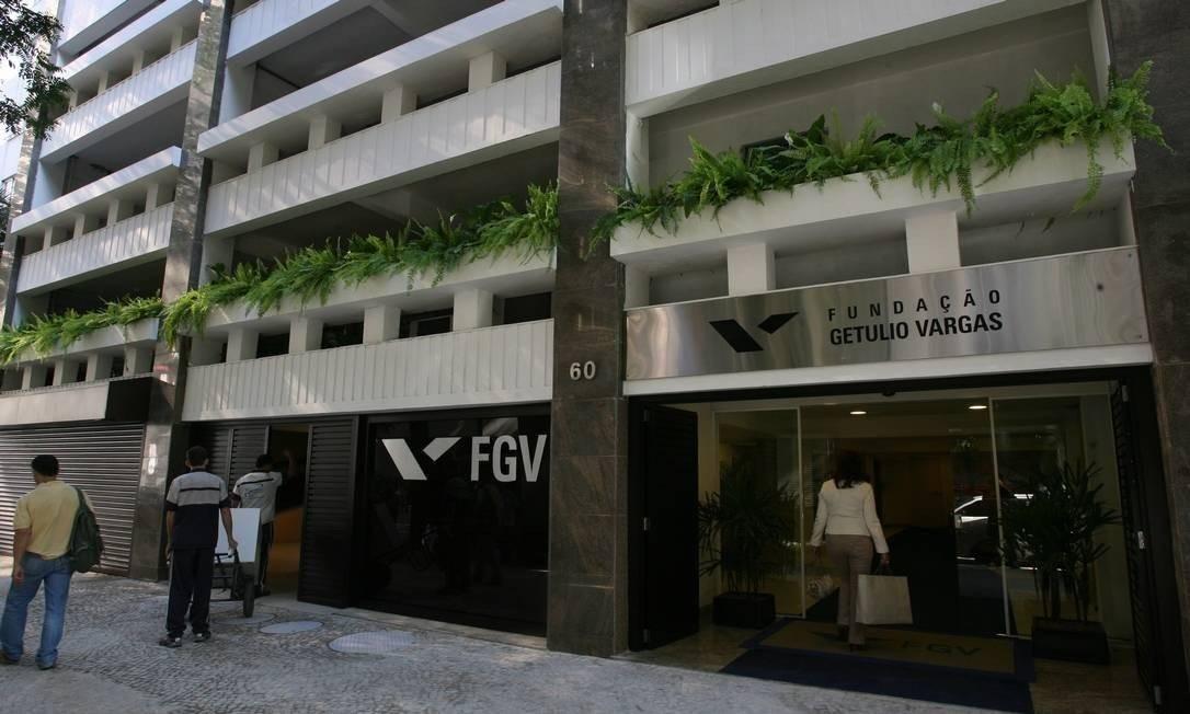 Prédio da FGV em Botafogo, Zona Sul do Rio Foto: Berg Silva