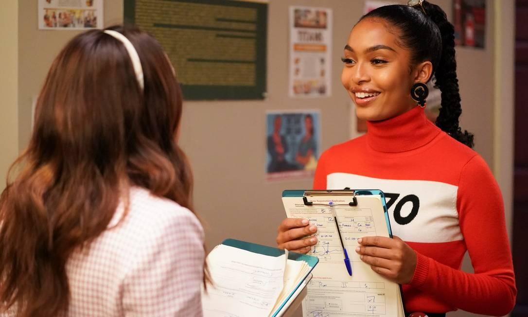 """A série """"Grown-ish"""" conta a história da jovem Zoey, que está entrando na universidade Foto: Divulgação/Freeform"""