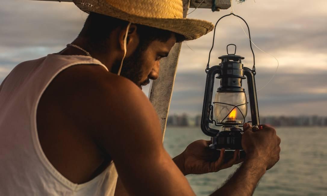 'História de pescadores', do Coletivo Zanzulin Foto: Divulgação/Henrique Cardozo