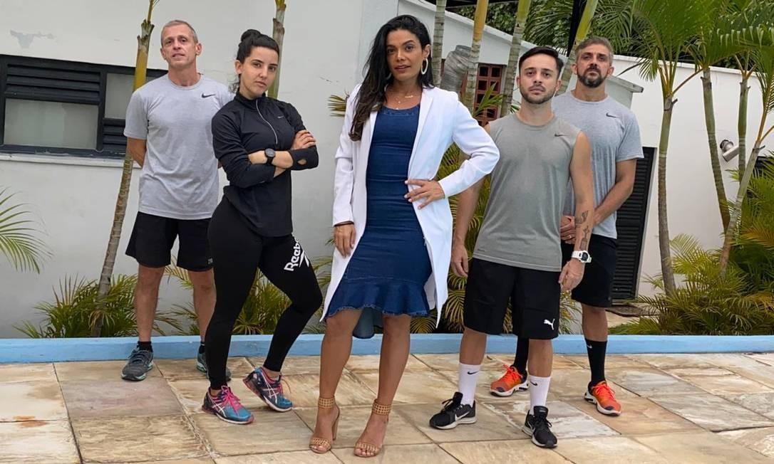 BA - Grupo de professores de educação física e a nutricionista Camila Monteiro montaram o programa Minha Melhor Versão Foto: Divulgação / Divulgação