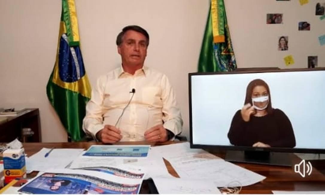 Bolsonaro garante permanência de Pazzuello e Salles Foto: Reprodução