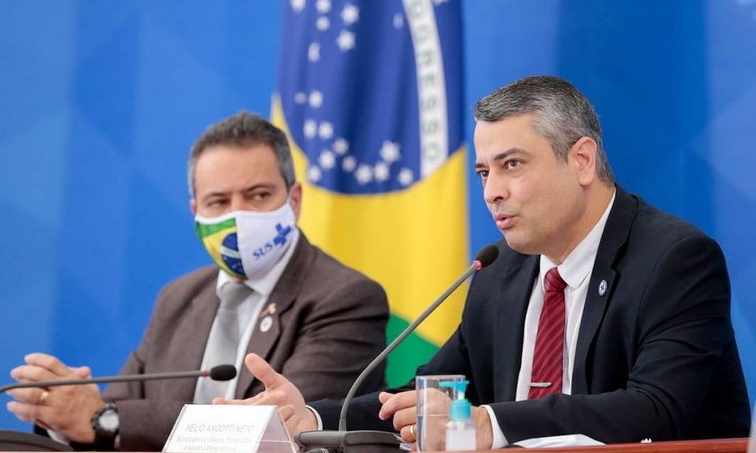 Helio Angotti Netto, secretário de Ciência e Tecnologia do Ministério da Saúde Foto: Carolina Antunes / PR