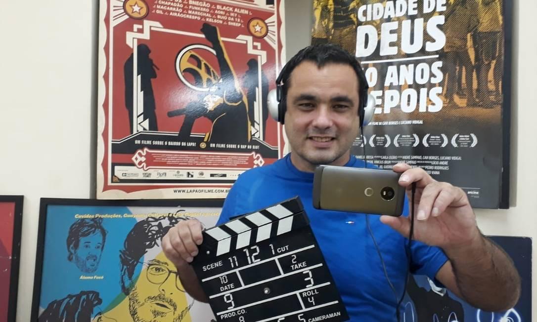 """O cineasta Cavi Borges é um dos criadores do filme-quarentena """"Me cuidem-se"""" Foto: Divulgação"""