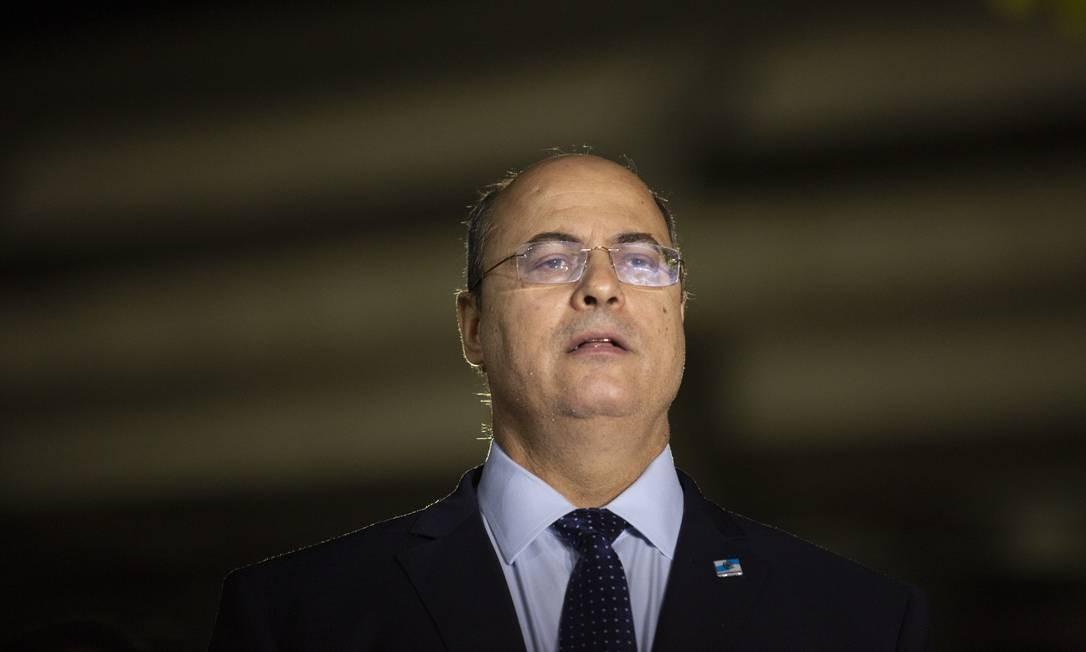 Governador Wilson Witzel (PSL) Foto: Gabriel Monteiro / Agência O Globo
