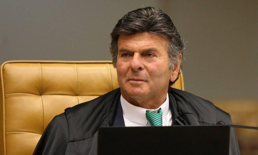 O ministro Luiz Fux Foto: Nelson Jr. / SCO/STF