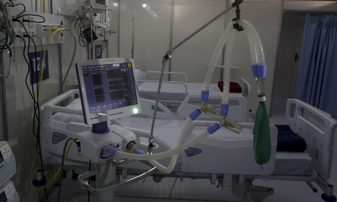 Análise considerou a aquisição de itens como respiradores Foto: Fabiano Rocha / Agência O Globo