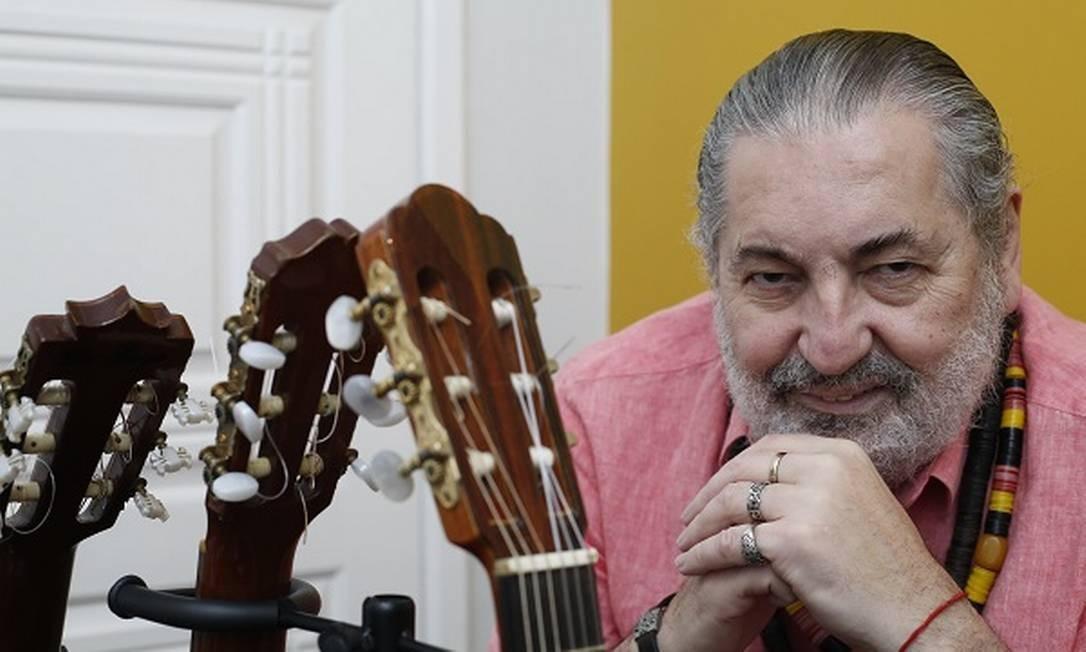 Moacyr Luz compôs 30 músicas na quarentena Foto: Marluci Martins