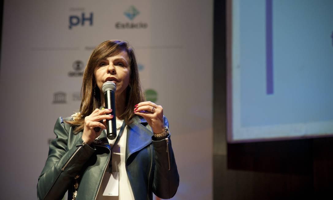 A deputada Professora Dorinha participa de debate sobre educação Foto: Adriana Lorete/Agência O Globo/16-09-2019