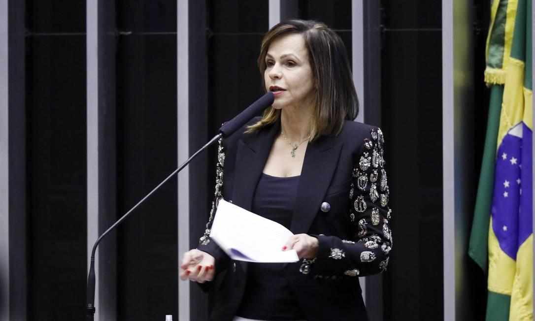 Relatora do Fundeb: Professora Dorinha (DEM-TO) discursa em plenário Foto: Najara Araujo / Câmara dos Deputados